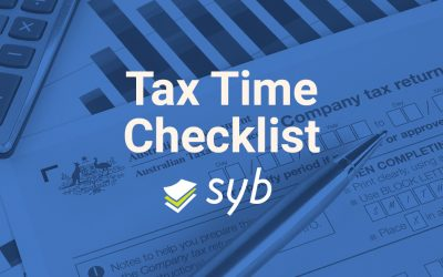 Tax Time Checklist