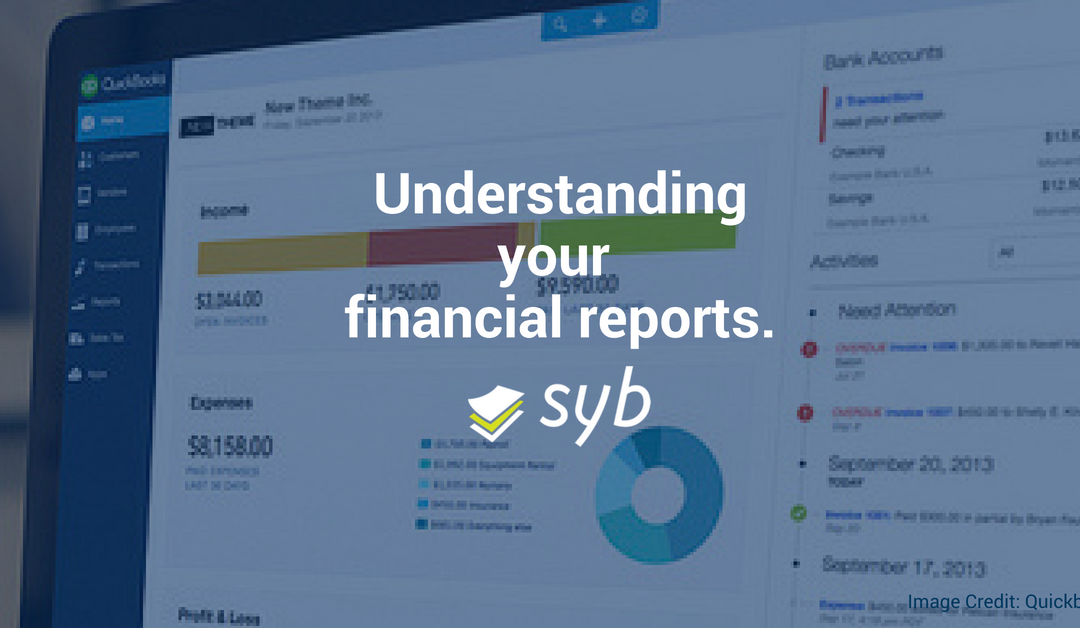 Understanding your financial reports